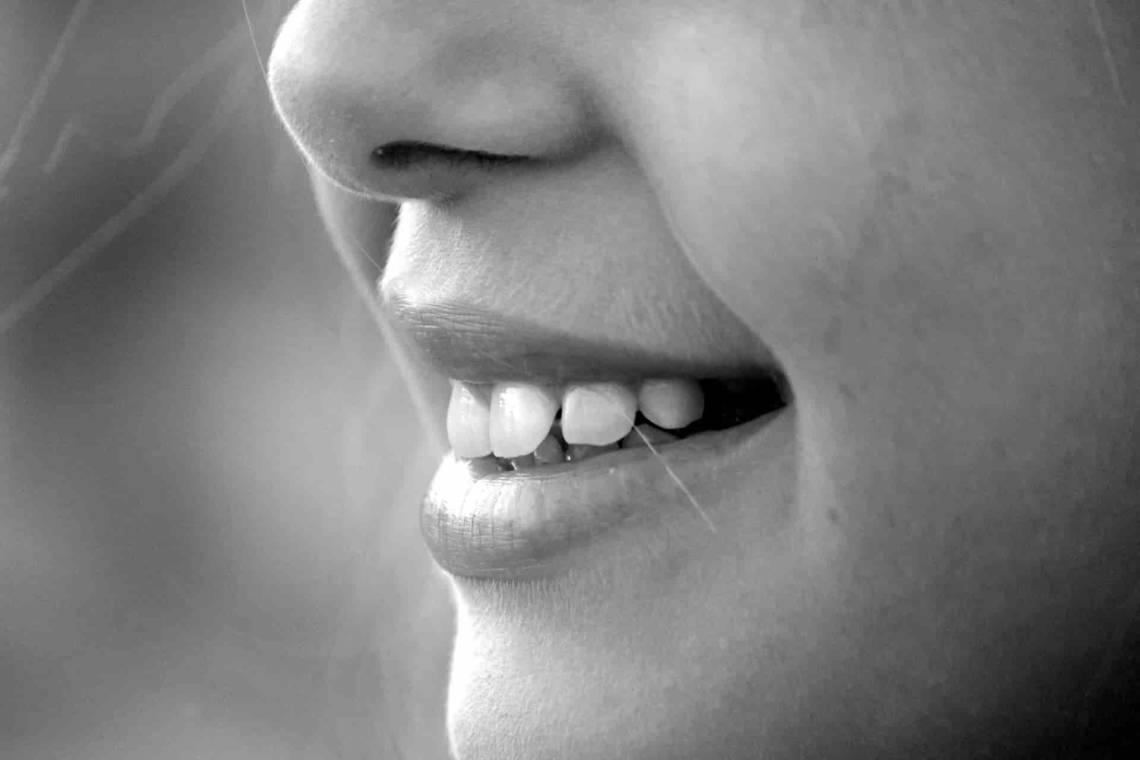 uśmiech, jama ustna